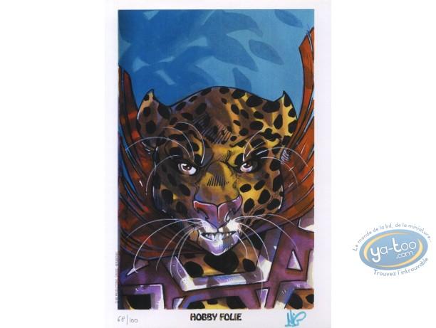 Bookplate Offset, Luuna : Leopard