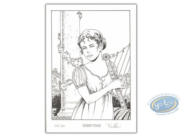 Bookplate Offset, Décalogue (Le) : Ninon