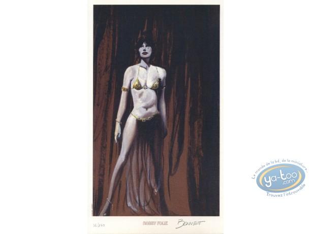Bookplate Offset, Vell'a : Dancer