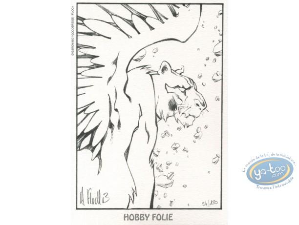 Bookplate Offset, Slhoka : Griffin