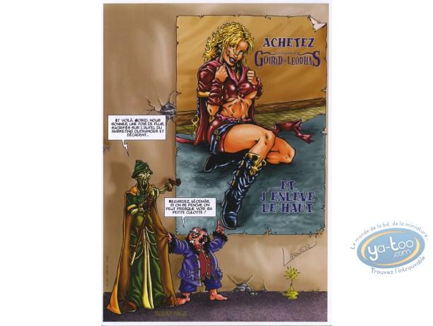Bookplate Offset, Enquêtes de Goirid et Lheôdas (Les) : Et j'enleve le haut