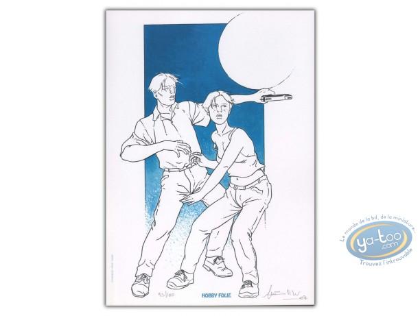 Bookplate Offset, Maître de Pierre (Le) : Couple threatened