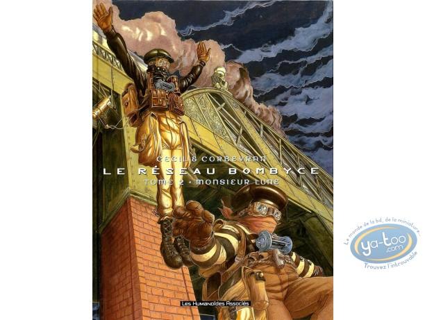 Listed European Comic Books, Réseau Bombyce (Le) : Monsieur Lune
