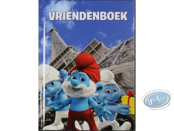 Office supply, Smurfs (The) : Vriendenboek