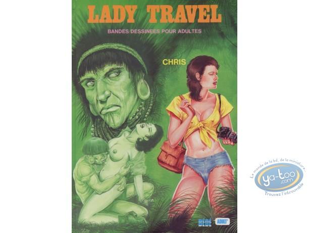 Adult European Comic Books, Lady Travel : Lady Travel