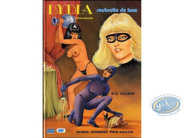 Adult European Comic Books, Lydia : Soubrette de Luxe