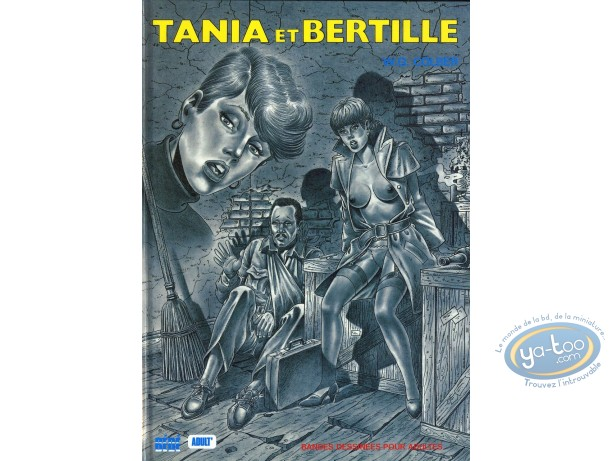 Adult European Comic Books, Tania et Bertille