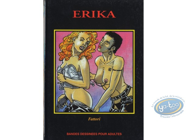 Adult European Comic Books, Erika : Erika
