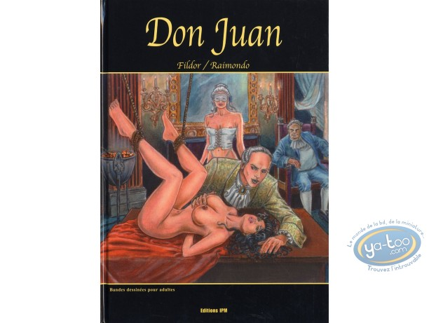 Adult European Comic Books, Don Juan : Don Juan
