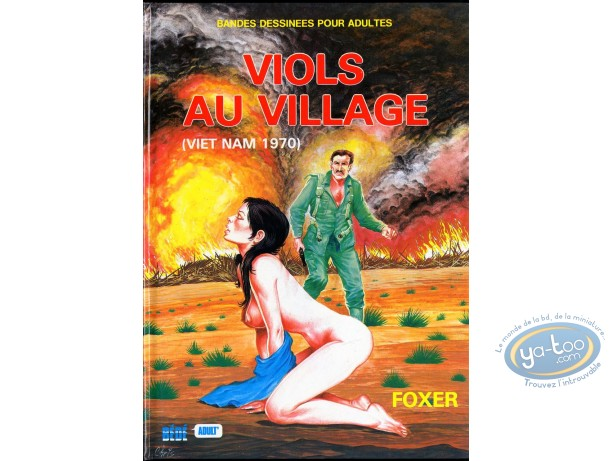 Adult European Comic Books, Viols au village : Viols au village