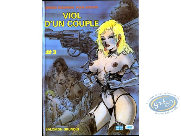 Adult European Comic Books, Viol d'un Couple : Viol d'un couple
