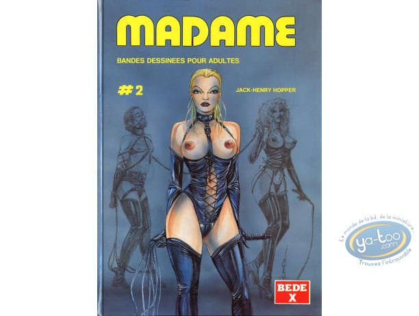 Adult European Comic Books, Madame : Madame