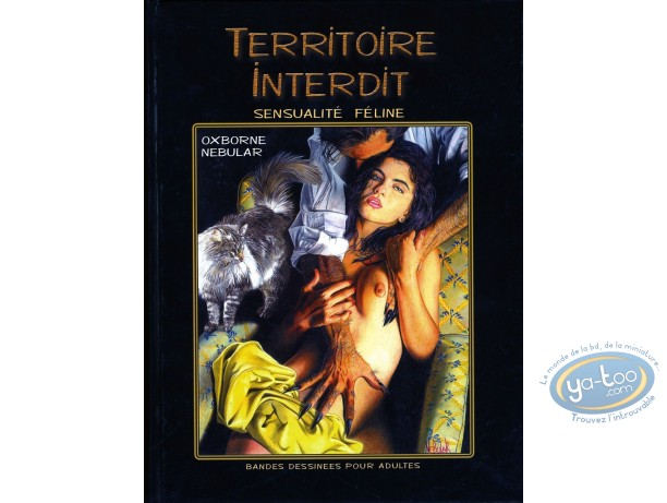 Adult European Comic Books, Territoire interdit Sensualité Félines