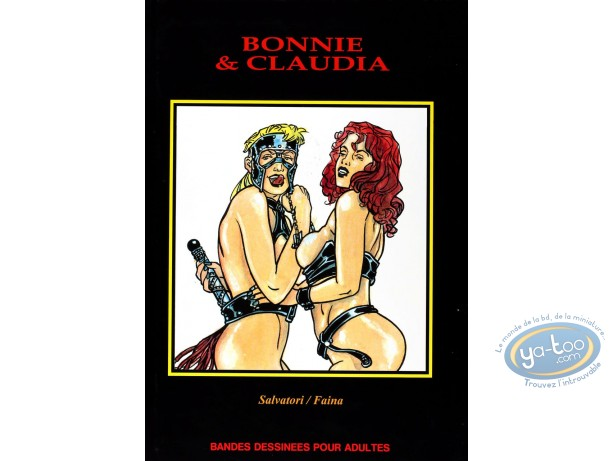 Adult European Comic Books, Bonnie et Claudia : Bonnie & Claudia
