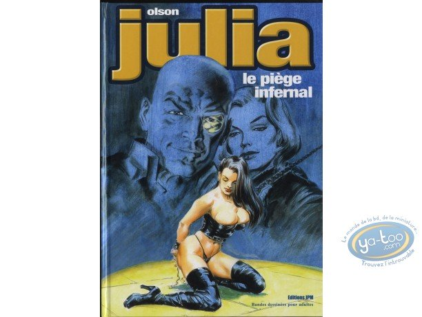 Adult European Comic Books, Julia : Julia Le piège Infernal