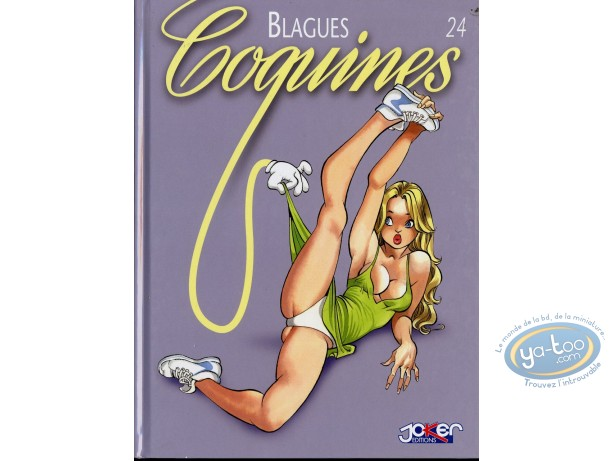 Adult European Comic Books, Blagues Coquines : Blagues Coquines, Vol 24