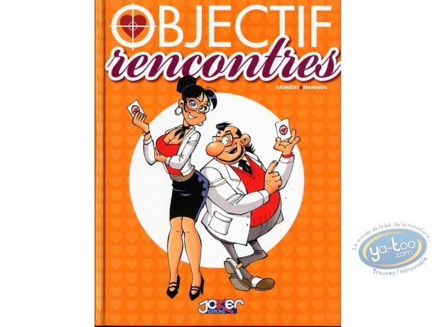European Comic Books, Objectif Rencontres : Manhaes Objectif rencontres
