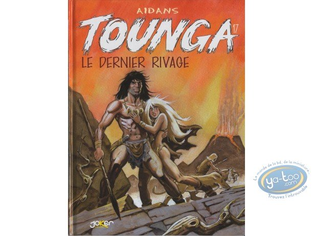 Reduced price European comic books, Tounga : Le dernier Rivage
