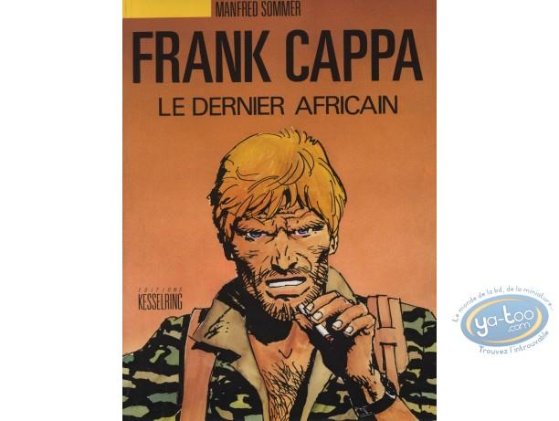 Listed European Comic Books, Frank Cappa : Le Dernier Africain