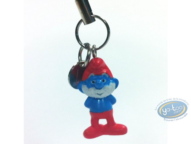 Mobile Accessory, Smurfs (The) : Mobile hanger : Papa Smurf