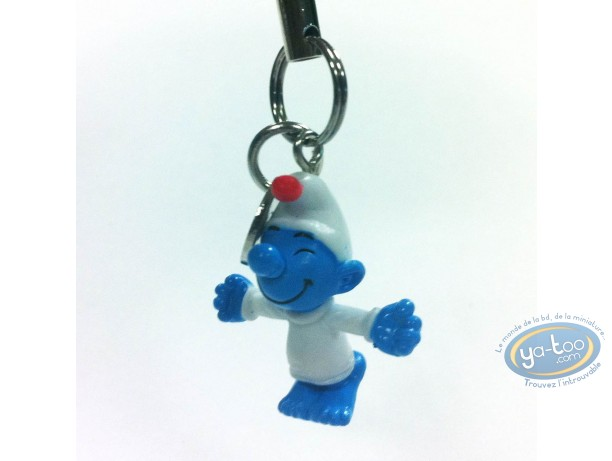 Mobile Accessory, Smurfs (The) : Mobile hanger : Lazy Smurf
