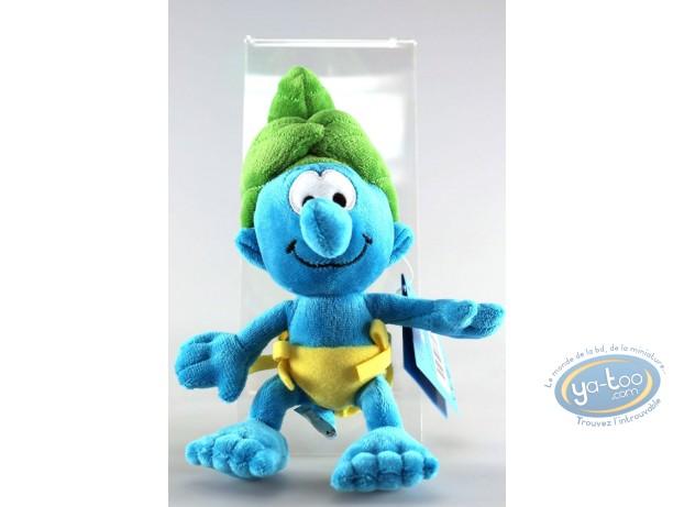 Plush, Smurfs (The) : Wild Smurf 20 cm