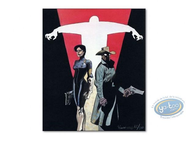 Bookplate Offset, Ninie Rezergoude : Duo & Shadow