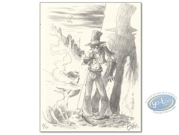 Bookplate Offset, Epouvantail Pointeur (L') : Beuzelin, L'Epouvantail Pointeur