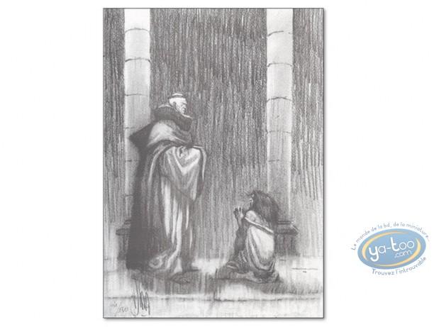 Bookplate Offset, Nicolas Eymerich : Confession