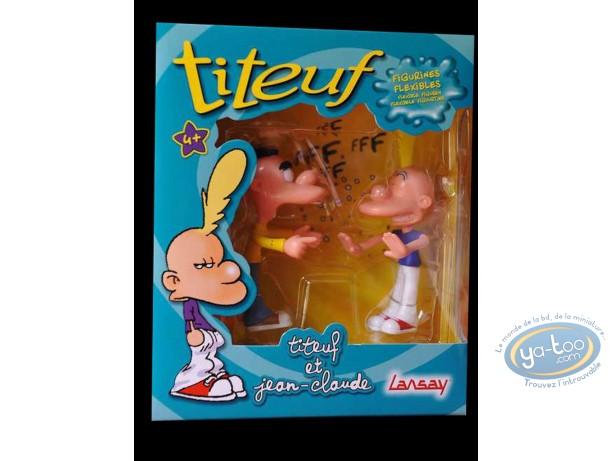 Plastic Figurine, Titeuf : Titeuf and Jean-Claude
