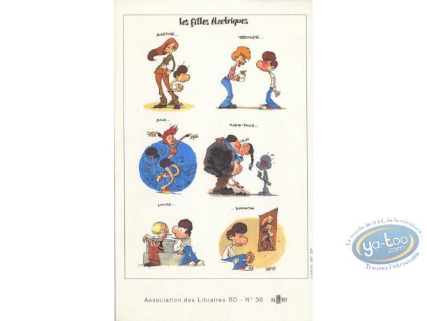 Bookplate Offset, Filles Electriques (Les) : Zep, les filles électriques
