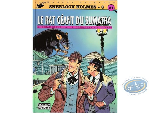 Listed European Comic Books, Sherlock Holmes : Le Rat Geant du Sumatra