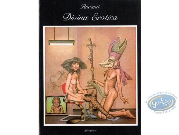 Adult European Comic Books, Divina Erotica