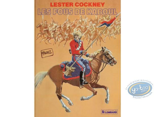Listed European Comic Books, Lester Cockney : Les Fous de Kaboul