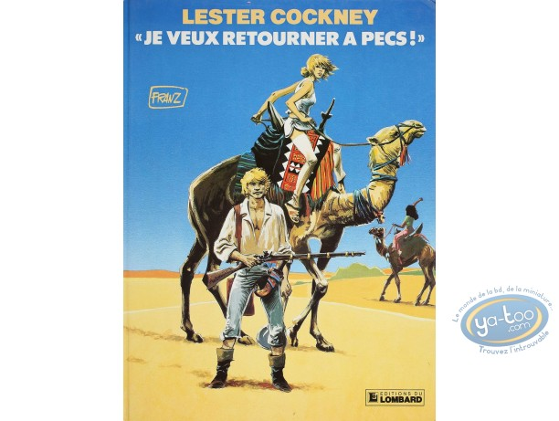 Listed European Comic Books, Lester Cockney : Je Veux Retourner a Pecs!