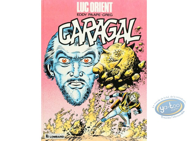 Listed European Comic Books, Luc Orient : Caragal (good condition)