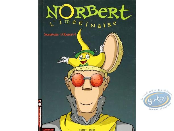 Listed European Comic Books, Norbert l'Imaginaire : Imaginaire 1 / Raison 0 (+ bookplate)