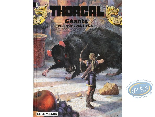 Listed European Comic Books, Thorgal : Geants