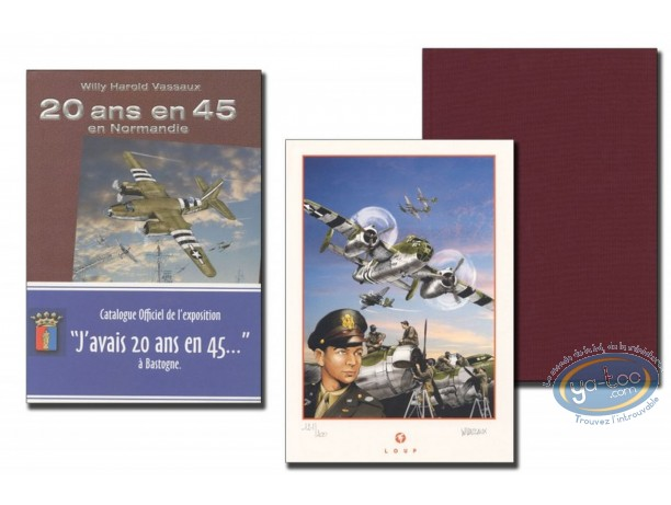 Limited First Edition, 20 ans en 45 : J'avais 20 ans en 45' (burgundy) - (Limited edition)