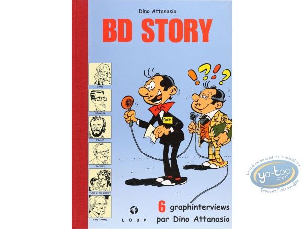 Limited First Edition, BD Story : BD Story (dedication Jacobs)