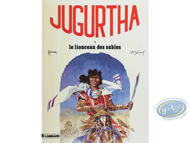 Listed European Comic Books, Jugurtha : Le lionceau des sables (good condition)