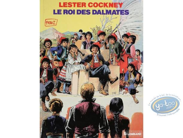 Listed European Comic Books, Lester Cockney : Le Roi des Dalmates