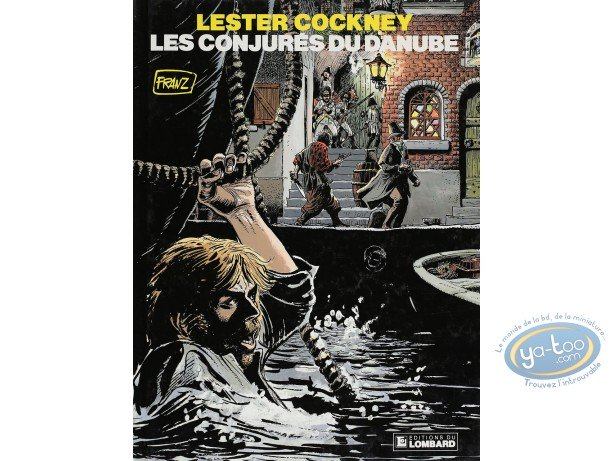 Listed European Comic Books, Lester Cockney : Les Conjurés du Danube