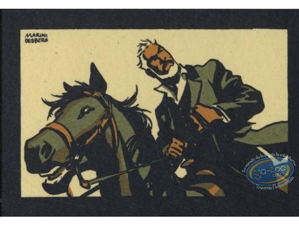 Bookplate Serigraph, Etoile du Désert (L') : Matt Montgomery