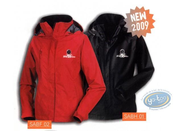 Clothes, Même pas Peeur : Jacket, Même pas peeur !! : Red Woman, size: M