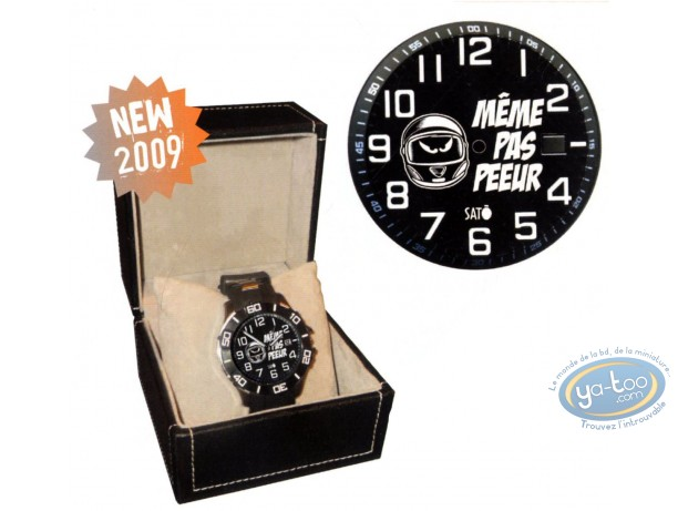 Clocks & Watches, Même pas Peeur : Watch, Sato, Même pas peeur : ZE WATCH