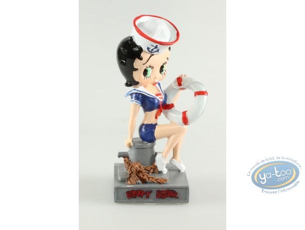 Resin Statuette, Betty Boop : Betty Boop Marine