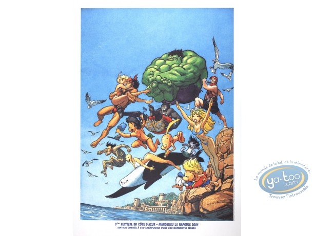 Offset Print, Hommage : Tribute to Comics