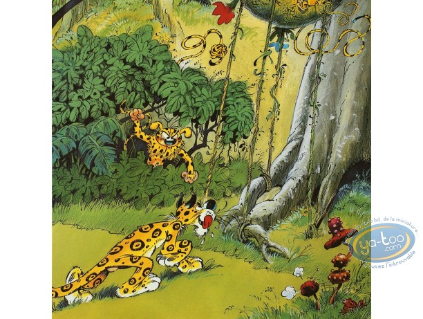 Offset Print, Marsupilami : The Jaguar (variant)