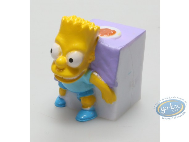 Plastic Figurine, Simpson (Les) : Bart Simpson under the table.